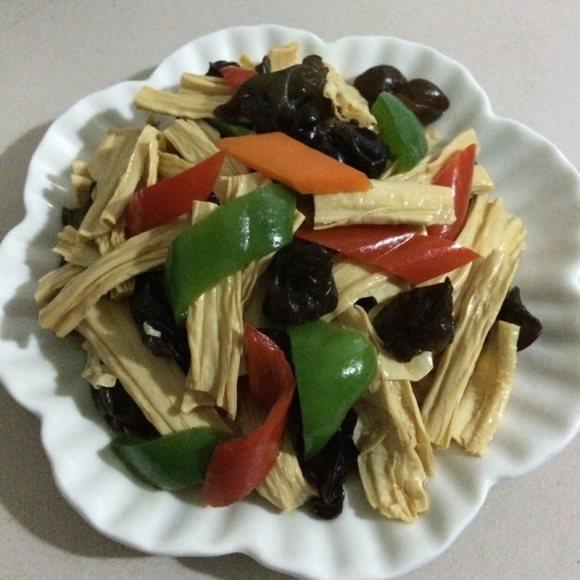 最喜欢吃的凉拌腐竹