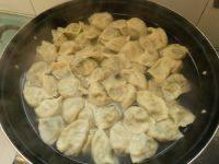 自己做的三鲜水饺