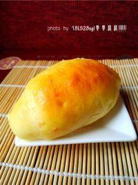 自己做的香橙面包