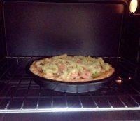 自制鲜虾培根披萨