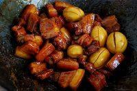 诱人的上海红烧肉