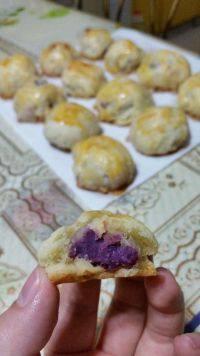 口感好的紫薯酥
