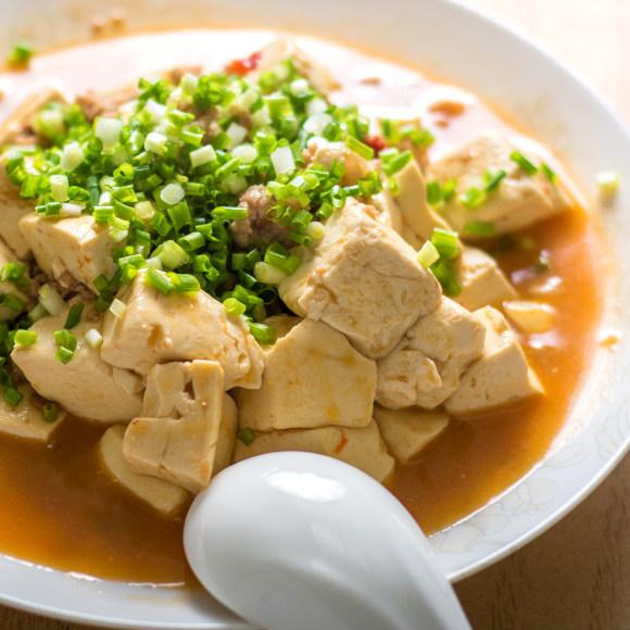 爽口的肉末豆腐