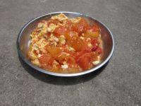 口感极佳的鸡蛋炒西红柿