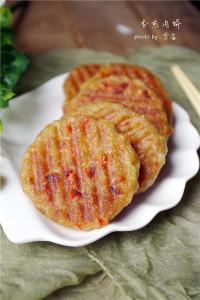 自制香煎肉饼