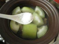 滋补的节瓜猪骨汤