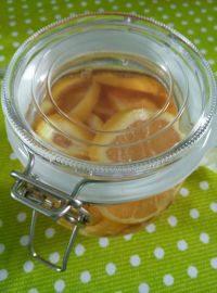 自制柠檬蜂蜜茶