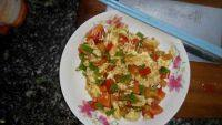 家常菜西红柿辣椒炒鸡蛋
