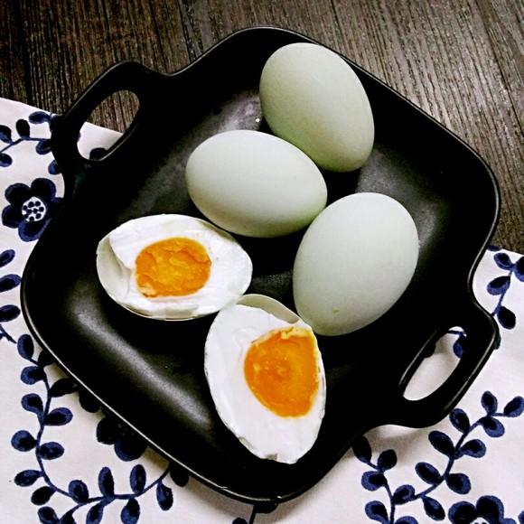唇齿留香的咸鸭蛋