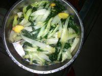 家常菜白灼小白菜
