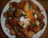 简单版鸡肉炖土豆