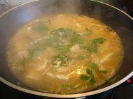 美味的鲜虾豆腐羹
