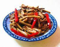 简单版干煸茶树菇