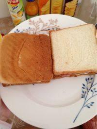 简单的火腿三明治