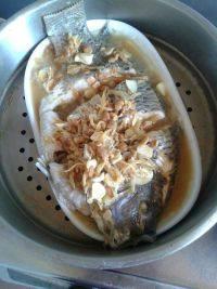 营养丰富的蒸鱼