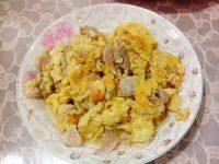 美味的大蛤炒鸡蛋