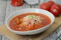 家常菜茄汁金针菇