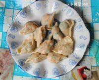 秀色可餐的胡萝卜饺子