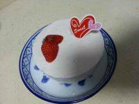 自制草莓慕斯