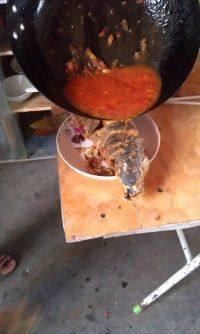 开胃茄汁鲤鱼