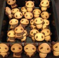 DIY熊猫饼干