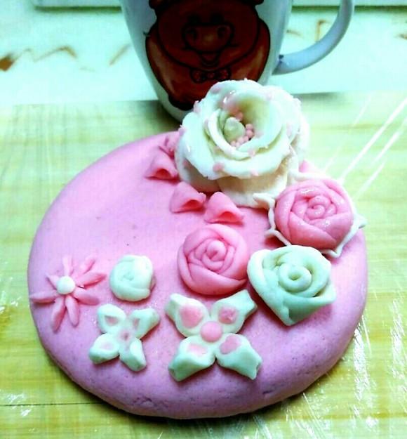 诱人的翻糖蛋糕