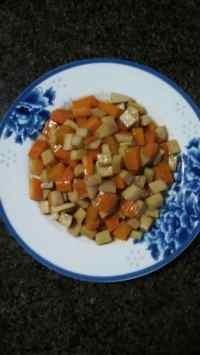 家常菜蚝油杏鲍菇