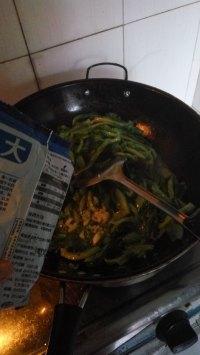 家常菜炒生菜