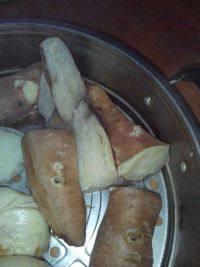 简单的蒸红薯