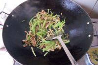 家常菜莴笋肉丝
