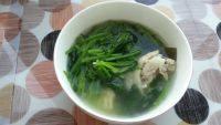 美味的菠菜汤