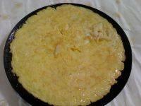 美味的银鱼煎蛋