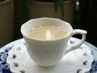 自制的暖身奶茶