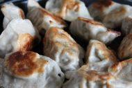 色香味具全的油煎饺子