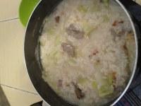 美味的猪肝粥
