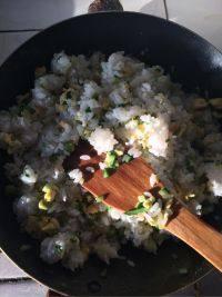 自己做的鸡蛋炒饭