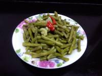 自制腌豇豆