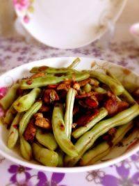 家常菜干煸芸豆