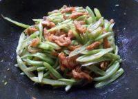 四季豆炒肉丝自制