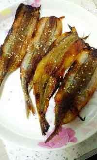 美味的香煎马步鱼