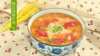 美味的西红柿面片汤