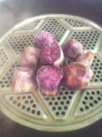 口舌生香的蒸紫薯