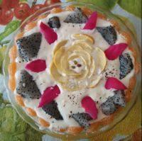 口感饱满的蛋糕