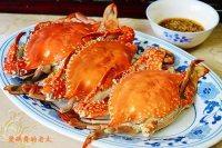 【家庭版】清蒸梭子蟹