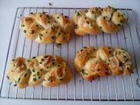 自制香葱芝士辫子面包