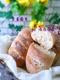 美味的全麦面包