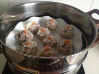 美味的糯米珍珠丸子