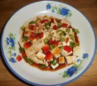 自己做的拌豆腐