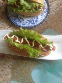 珍馐美味的热狗