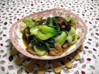 香飘的香菇炒油菜
